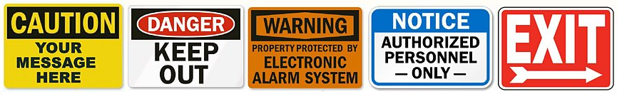 OSHA Signs